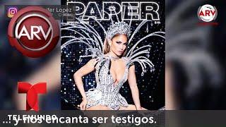 Jlo luce sus curvas y un poco más en la portada de esta famosa revista | Al Rojo Vivo | Telemundo