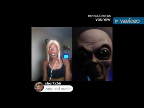 tranzGODess Talks To Alien Grey
