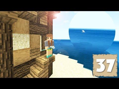 DOLPHINS! SHIPWRECKS! & THE EXPLORER SHACK! - Survival Let's Play Ep. 37 - Minecraft (PE W10 XB1)