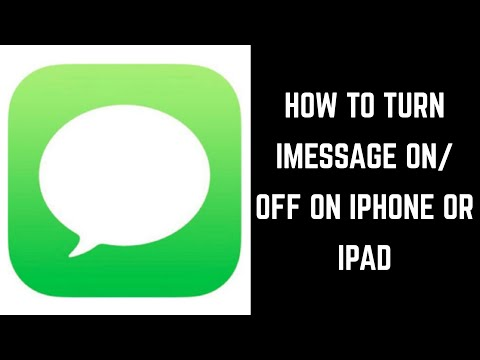 How to Turn iMessage On or Off on Apple iPhone or iPad