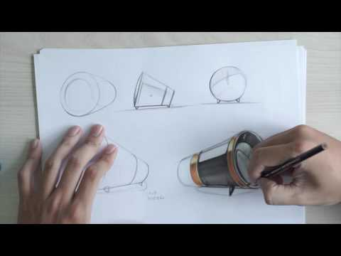 Industrial & Product Design Sketching
