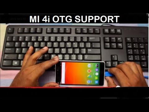 Xiaomi MI 4i - How to Connect USB drive (OTG Functionality) EXPLAINED