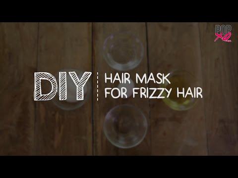 DIY: Hair Mask For Frizzy Hair - POPxo