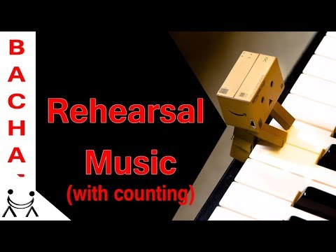 Bachata Rehearsal Music [with counting]
