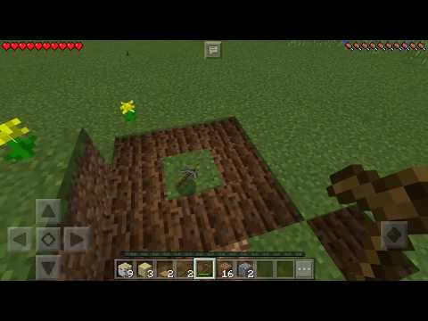 How to make stone pickaxe!!!