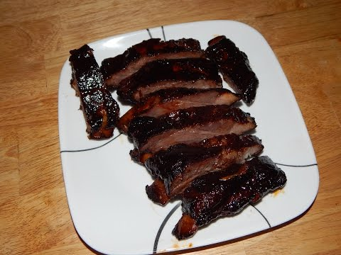 Oven Baked BBQ Ribs - Baby Back BBQ Ribs In The Oven