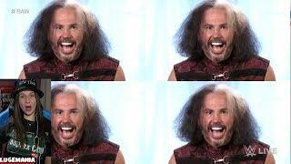 WWE Raw 1/1/18 Woken Matt Hardy doubles