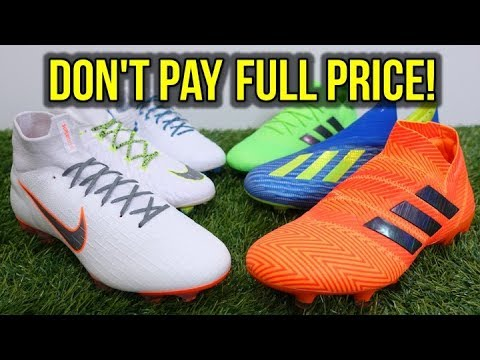 DON'T GET RIPPED OFF ON 2018 WORLD CUP SOCCER CLEATS! *NIKE JUST DO IT & ADIDAS ENERGY MODE*