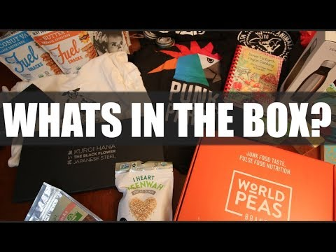Best Kitchen Knives & Vegan Toothpaste 'What's In the Box'?