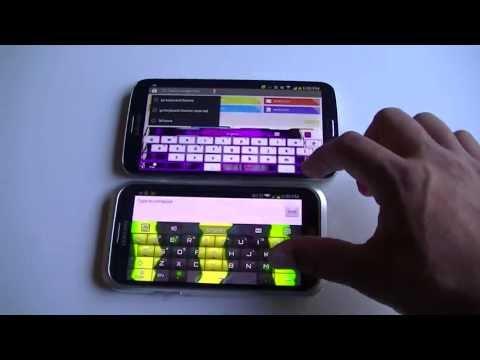 Samsung Galaxy Mega & Note 2 Keyboard Themes