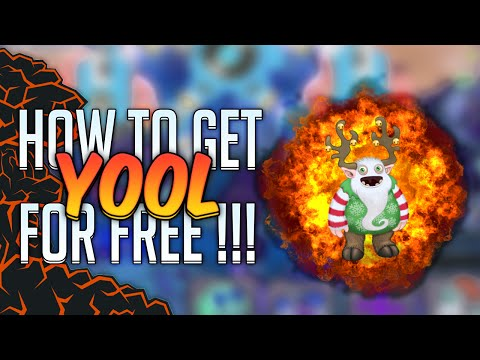 My Singing Monsters : HOW TO GET A YOOL FOR FREE ! (Easter Egg)