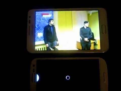 IP TV Samsung Galaxy III, Note