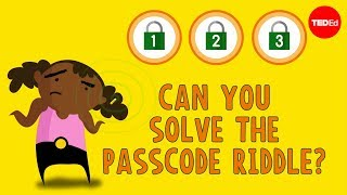 Can you solve the passcode riddle? - Ganesh Pai