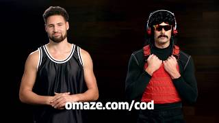 Dr Disrespect Comes Up with Online Nicknames for Klay Thompson // Omaze