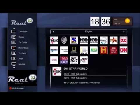 Real TV 2015 IPTV Demo. Best East Indian IPTV Ever.