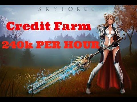 Skyforge Credit Farming 240k+ Per Hour (Skyforge PS4)