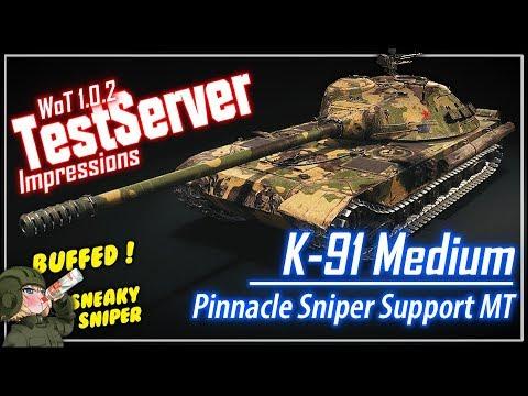 K-91 Medium Impressions || World of Tanks