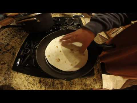 How-to cook a basic quesadilla
