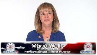 "Maria Wells: ""I Give Because …"""