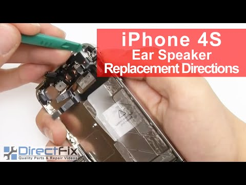 iPhone 4S Earphone Replacement Directions