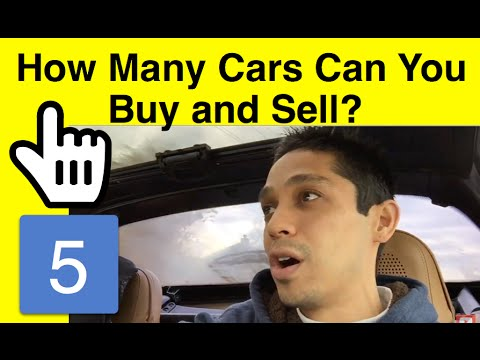 WARNING: How Many Cars Can You Buy And Sell for Profit?