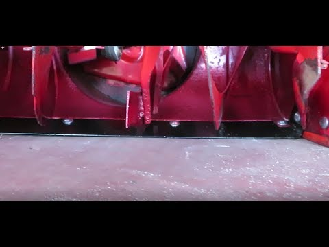 How to Replace a Snowblower Shave Plate: MTD and More
