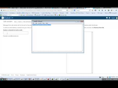 How to Whitelist Hotmail - Outlook.com email Accounts