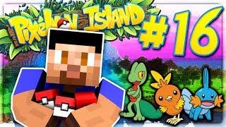 GENERATION 3 POKEMON! - PIXELMON ISLAND S2 #16 (Minecraft Pokemon Mod)