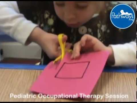 Helping Your Child Use Scissors