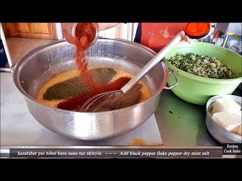 Zucchini Meatball Recipe Fried in Oil  TimeLapse
