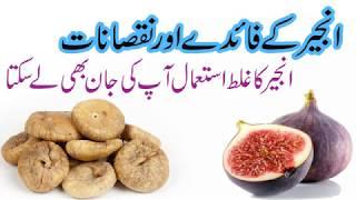 How to eat anjeer   Anjeer Khanay ke fayde or Anjeer khane nuksanat
