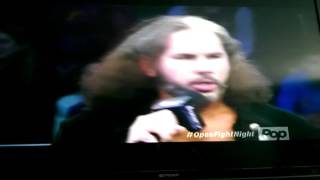 Matt Hardy talks about his return to wwe to delete the Wyatts and More !!!