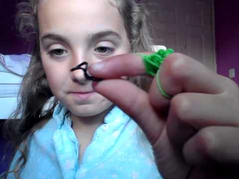 How to do a Snake on your hands! Loom bands