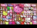 Special Series Hello Kitty Slime Mixing Too Many Things Into Clear Slime Satisfying Slime