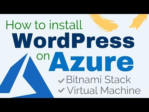 How to Install WordPress on Azure