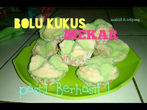 Cara membuat Bolu Kukus Mekar Anti Gagal # How to make Steamed Sponge Cake