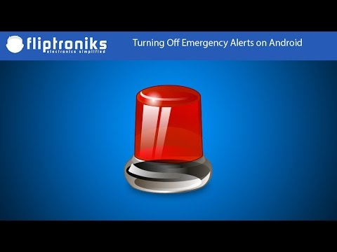 How To Turn Off Emergency Alerts on Android - Fliptroniks.com