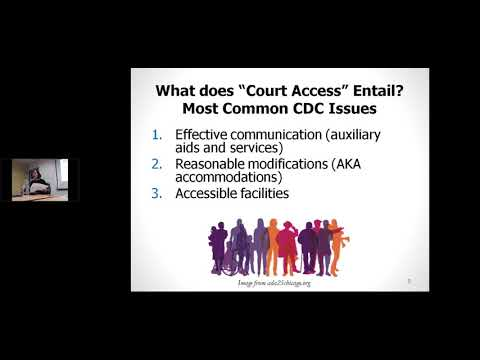 Disability Rights Consortium: Access to the courts for people with disabilities