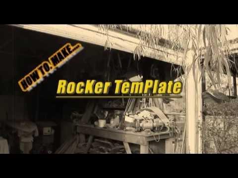 How to make a Surfboard rocker template