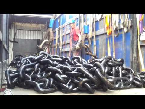 HYPNOTIC Video Inside Extreme Manufacturing Plant World's Biggest Heavy Huge Anchor Chain Factory