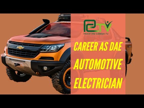 Career as Automotive electrician