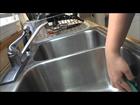 Sink Demo with Norwex's Cleaning Paste