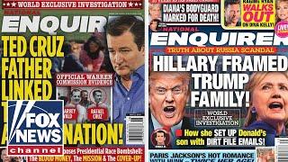 Download National Enquirer hid damaging Trump stories in safe Video