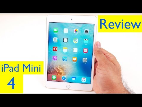 iPad Mini 4 Review - Tested with iOS 10