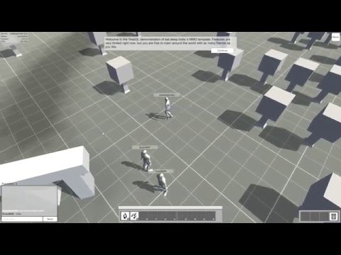 Unity3D + SmartFox MMO Template