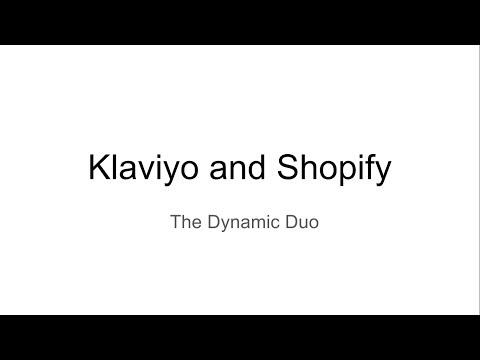 Shopify Plus Klaviyo Equals Sales - A review
