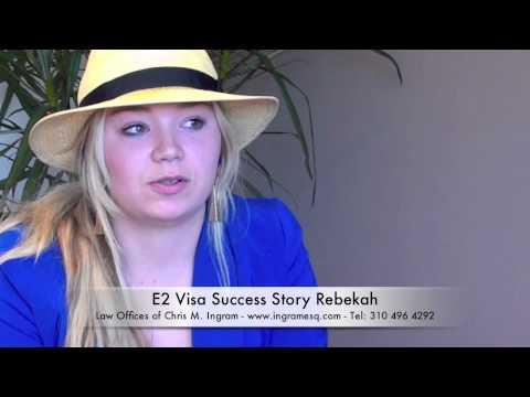 E2 Visa - Rebekah E2 Visa Success Story