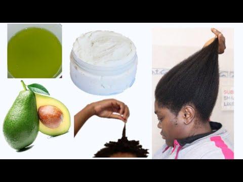 how to do Avocado oil butter creamy diy at home