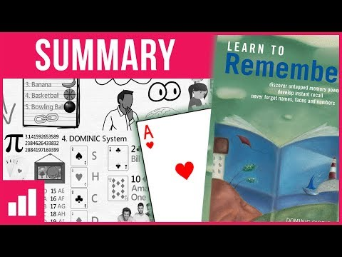 Learn to Remember by Dominic O'Brien - Ways to Improve Your Memory ► Animated Book Summary