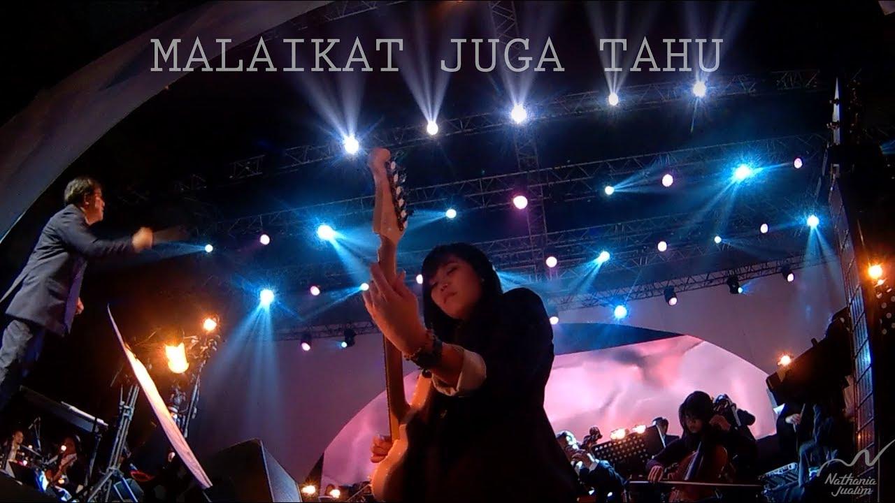 Download NATHANIA JUALIM (GUITAR CAM) - MALAIKAT JUGA TAHU (TULUS) | Konser Salute 2019 MP3 Gratis